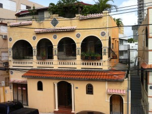 All suites are in an historic house in San Juan's Arts District.
