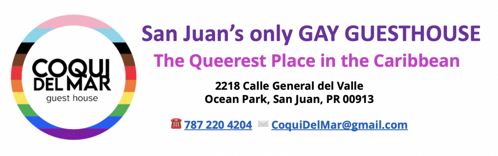 San Juan Gay Guide: Guesthouses and Hotels